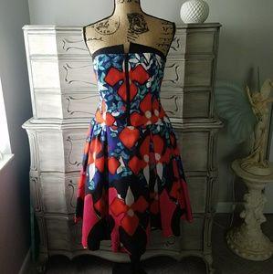Peter Pilotto Strapless Dress